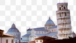 FIG Leaning Tower Of Pisa, Italy - Leaning Tower Of Pisa Trevi Fountain Siena Piazza Dei Miracoli PNG