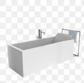 White Bathroom Toilet Tank - Bathtub 3D Modeling Bathroom 3D Computer Graphics Wavefront .obj File PNG