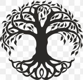 Celtic Tree Of Life - Figure Drawing Tree Of Life Clip Art Image PNG