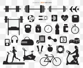 Gym Creative Collection - Fitness Centre Physical Fitness Bodybuilding Icon PNG