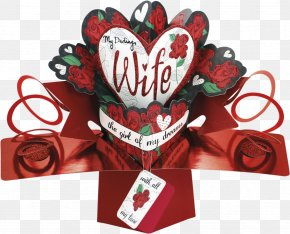 Valentine's Day Greeting Card Material - Valentine's Day Greeting & Note Cards Pop-up Book Wife PNG