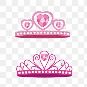 Crystal Pink Crown PNG