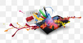 Spray Painted And IPad - Web Development Responsive Web Design Web Hosting Service PNG