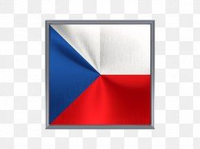 Flag Of The Czech Republic - Flag Of The Czech Republic Fahne Viiri PNG