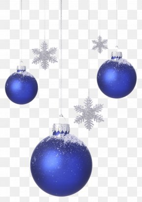 Christmas Blue Bell Creative - Christmas Ornament Blue Snowflake PNG