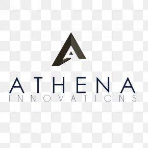 Athena - Logo Brand Line Angle PNG