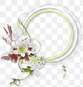 Flower Decoration Creative Circle Border - Circle PNG