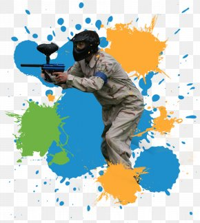 Kids Background - Paintball Guns Game Paintball Equipment Airsoft PNG