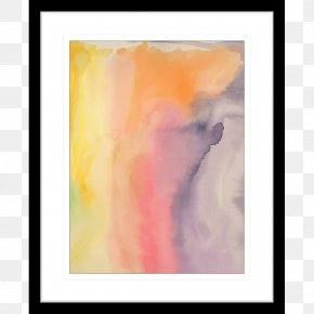 Painting - Watercolor Painting Modern Art Acrylic Paint Picture Frames PNG
