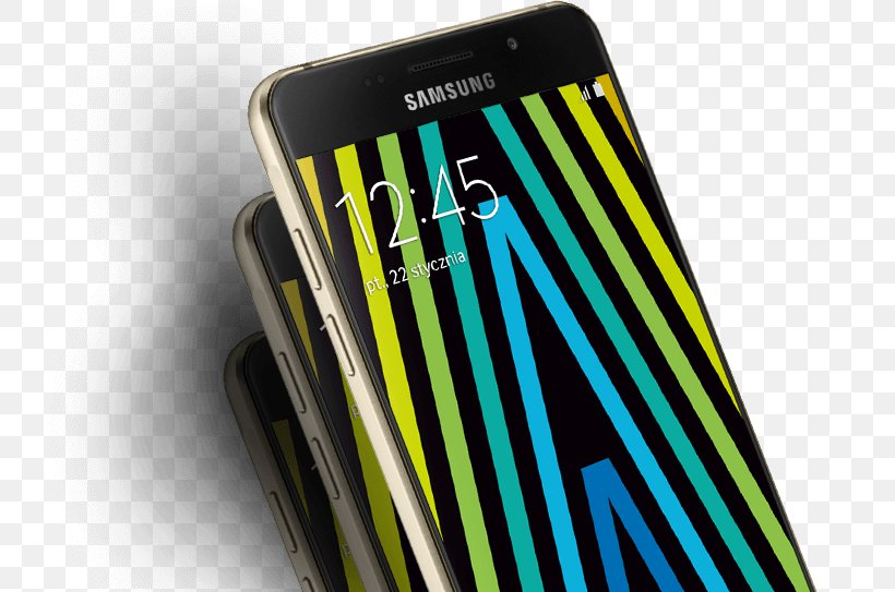 Smartphone Samsung Galaxy A5 (2016) Cellular Network, PNG, 735x543px, Smartphone, Cellular Network, Communication Device, Electronic Device, Gadget Download Free