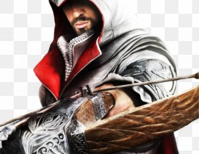 Assasins Creed - Assassin's Creed: Brotherhood Assassin's Creed II Ezio Auditore Monteriggioni PNG