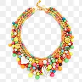 Color National Wind Necklace - Necklace Earring Jewellery Fashion Accessory PNG