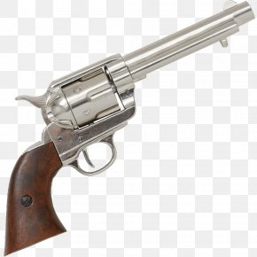 45 Colt - Revolver Colt Single Action Army .45 Colt Colt's Manufacturing Company Trigger PNG