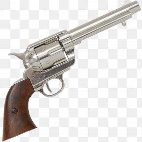 45 Colt - Revolver Colt Single Action Army .45 Colt Colt's Manufacturing Company Trigger PNG
