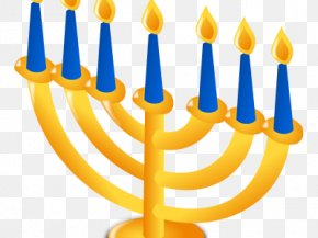 Judaism - Menorah Hanukkah Judaism Clip Art PNG