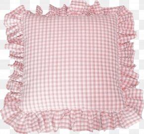 Pretty Red Plaid Pillow - Pillow Cushion Dakimakura Bedding PNG