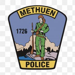 Police - Methuen Police Department Police Officer Badge Chief Of Police PNG