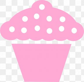 Cupcakes Platter Cliparts - Cupcake Muffin Icing Black And White Clip Art PNG