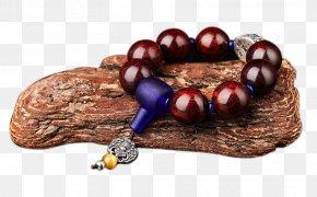 Venus Lobular Red Sandalwood Prayer Beads Bracelets 2.0 - Red Sandalwood Indian Sandalwood PNG