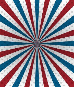 USA Deco Background - United States Wallpaper PNG