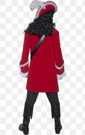Jacket - Captain Hook Piracy Costume Pants Jacket PNG