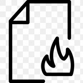 Fire Paper - Document File Format Filename Extension PNG