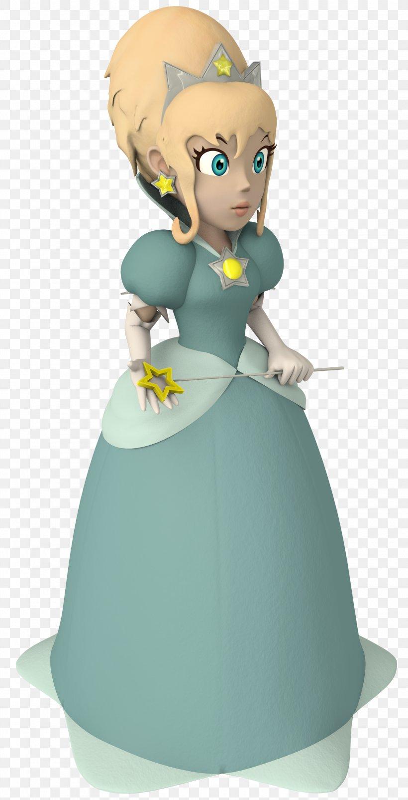 Rosalina Super Mario Galaxy Princess Peach Wii, PNG, 1915x3750px, Rosalina, Cartoon, Donkey Kong, Fictional Character, Figurine Download Free
