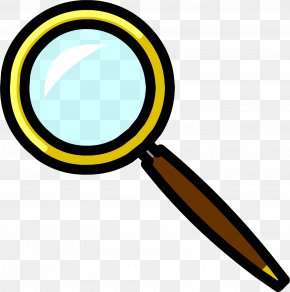 Magnifying Glass - Club Penguin Magnifying Glass Wiki Clip Art PNG