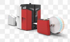 Digital Label - Drupa Paper Digital Printing Label Printer PNG