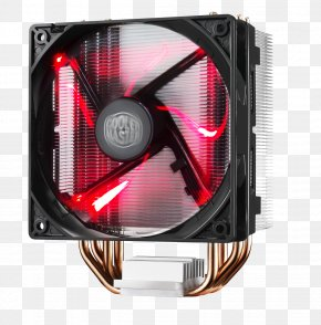 Fan - Computer System Cooling Parts Cooler Master Fan Light-emitting Diode Heat Sink PNG