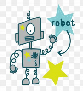 Cartoon Robot - Robot Euclidean Vector Technology Clip Art PNG