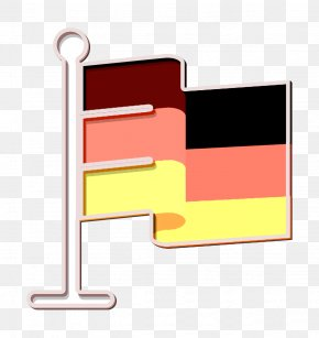 Rectangle Material Property - Flag Icon Germany Icon PNG