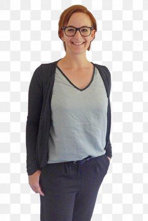 T-shirt - Sleeve T-shirt Black M Shoulder Blouse PNG