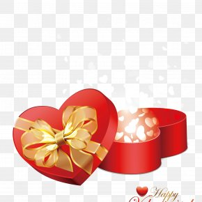 Full Of Heart - Valentine's Day Gift Heart PNG