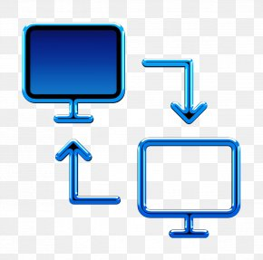 Computer Icon Computer Monitor - Business Set Icon Transfer Icon PNG