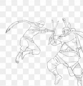 Bee Sketch - Line Art Figure Drawing Sketch PNG