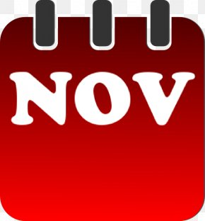 February Calendar Clipart - November Calendar Clip Art PNG