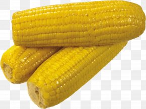 Yellow Corn Image - Corn On The Cob Sweet Corn Waxy Corn Cereal PNG