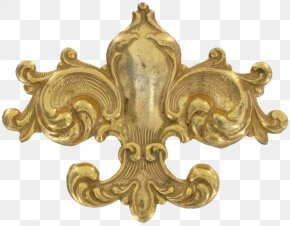 Fleur-de-lys - Vintage Clothing Antique Brooch Pin Jewellery PNG