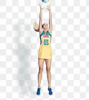 Netball - Australia Netball Cheerleading Uniforms Team Sport PNG