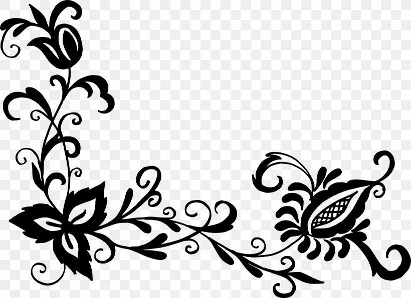40 Most Popular Flower Pattern Flower Clipart Png Black And White Prontuario Degabiente