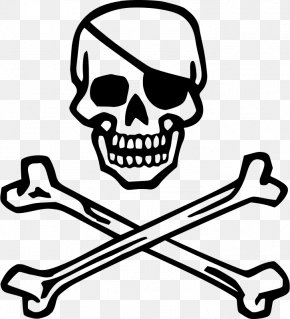 Skull - Piracy Skull And Crossbones Pirates Of The Caribbean Jolly Roger PNG