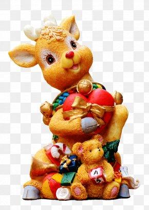 Reindeer - Santa Claus Christmas Day Reindeer New Year PNG