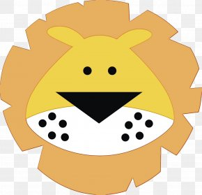 Fruit Smiley - Lion Face Cuteness Silhouette Transparency PNG