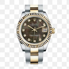 Rolex Brown Male Watch - Rolex Datejust Rolex Daytona Rolex Milgauss Rolex GMT Master II Rolex Submariner PNG