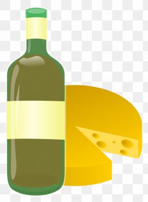 Wine And Cheese Clipart - Wine Pizza Cheese Clip Art PNG