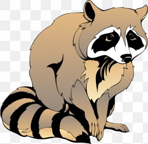 Raccoon Cliparts - Raccoon Giant Panda Clip Art PNG