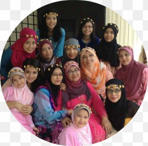Aidil Fitri - Family Social Group Community Pink M PNG