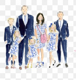 Family - Family Drawing Illustration PNG