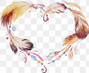 Hair Accessory Wing - Feather PNG